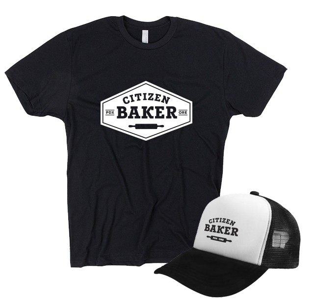 Citizen Baker T-shirt & Trucker Cap